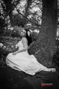 Bridal Black and White