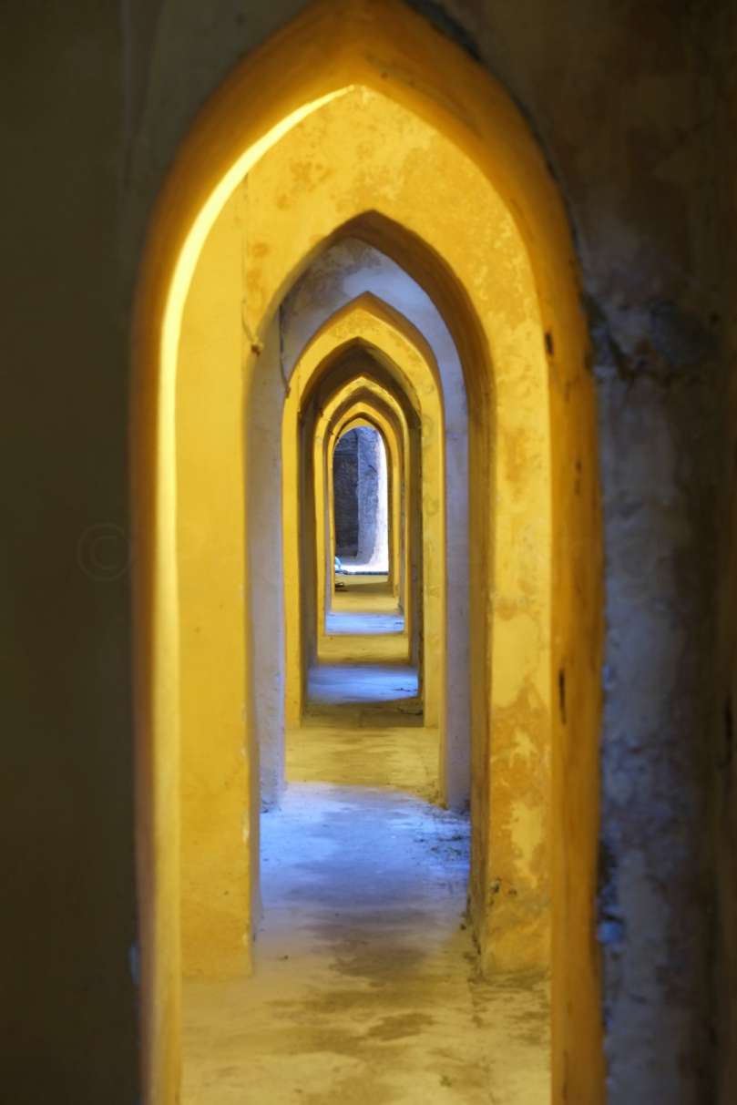 Seviile Spain: Passageway at the Alcazar