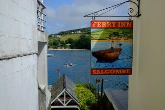 Salcombe, Devon, UK.
