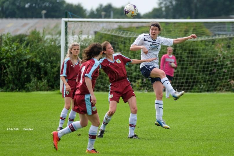 PNE Ladies v Burnley Ladies pre-season friendly lost 10-2
