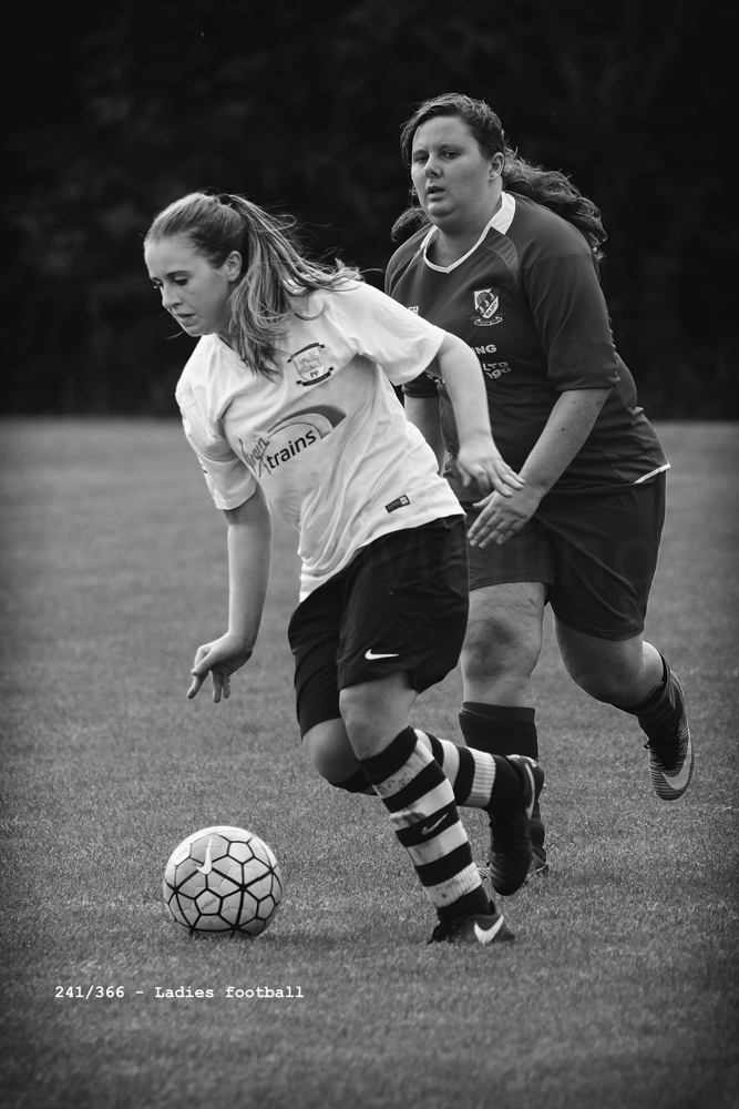 PNE Ladies v Penwortham Town Ladies pre-season friendly lost 3-1