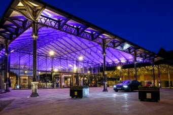 The restored Victorian market in Preston, Lancashire was opened in 2018