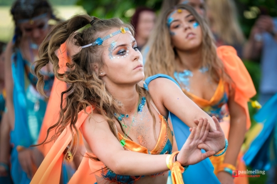 10th June 2018. Preston, UK. Thousands lined the streets and gathered in Moor Park, Preston for the annual Caribbean Carnival event. The carnival has been taking place in Preston for over 40 years and the weather in the north-west was appropriately Caribbean throughout the day.