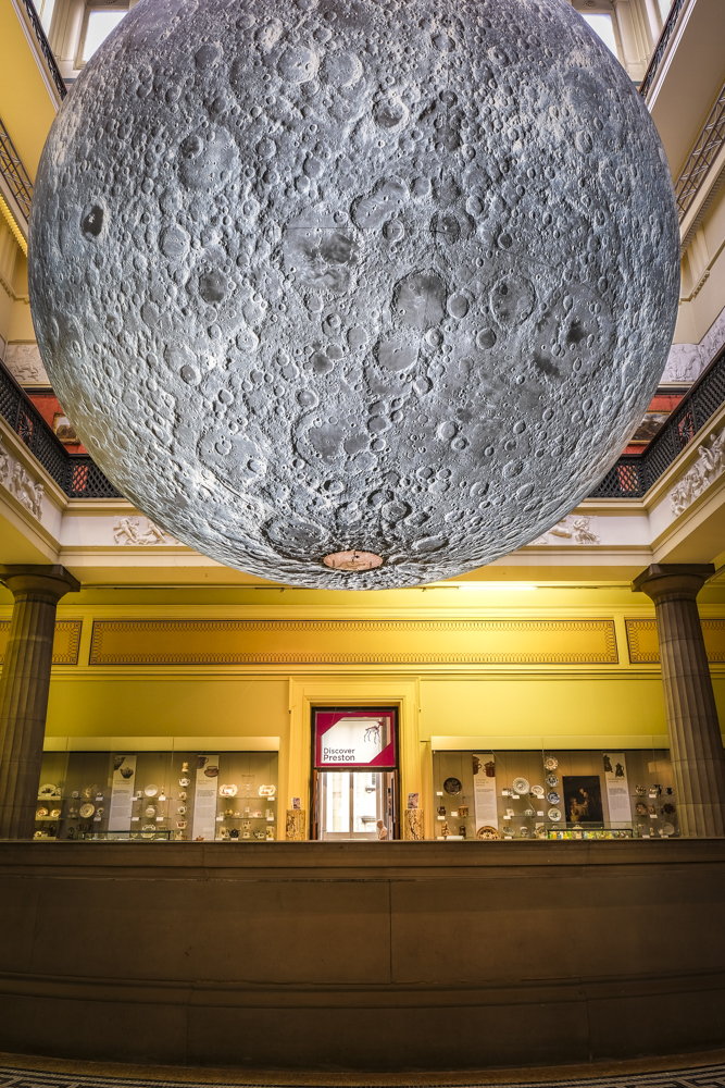 Museum of the Moon exhibition opens in Preston