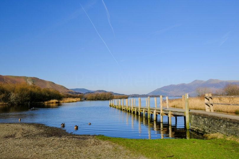 Lodore Jetty on Derwent Water
